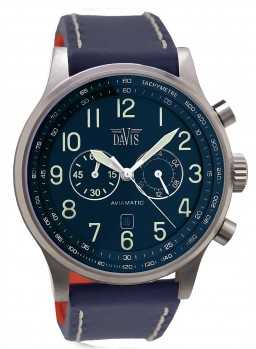 Davis - Aviamatic Watch Blue
