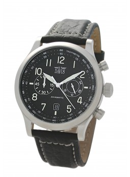 Davis - Aviamatic Watch Black S