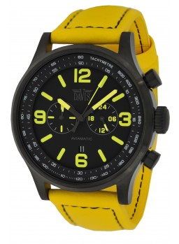 Davis - Aviamatic Watch YellowBlk