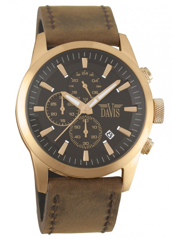 Davis - Cooper Watch Brown