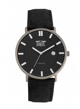 Davis - Boston Watch Black Titanium