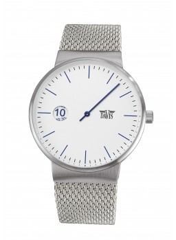 Davis - Center Watch White Mesh