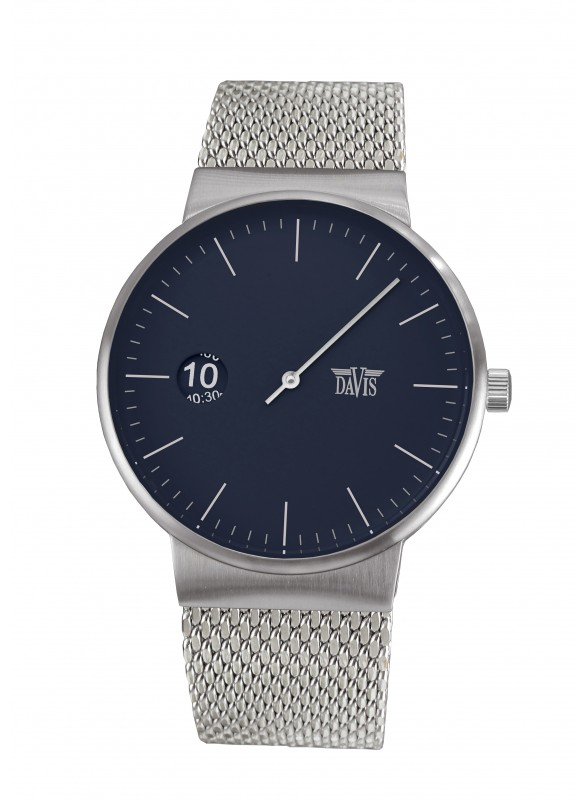 Davis - Center Watch Blue Mesh
