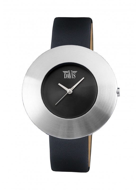 Davis - Disk Watch Sts Leather Black