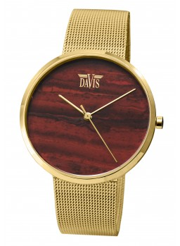 Davis - Red Rainbow Jasper Watch Ipg