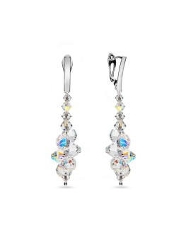 Spark - Bicone Earrings Aurore Boreale (XM19)