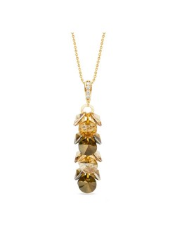 Spark - Gilded Frou Frou Neclace Bronze Shade/